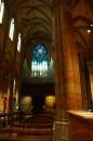 Finestra artistica all'interno chiesa Sacro Cuore Del Suffragio