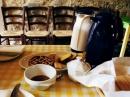 Colazione con caffe' e dolci