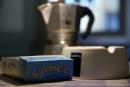 Colazione con caffe' e sigarette