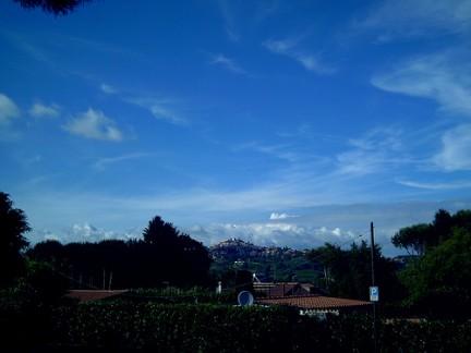 Panorama di Rocca Priora
