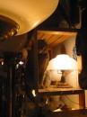 Gatto nel negozio di un artigiano di Trastevere