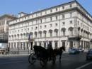 Palazzo Chigi carrozzella romana