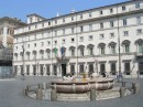 Palazzo Chigi sede del governo italiano dal 1961