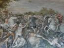 Musei Capitolini - Affresco Cavalier d'Arpino datato 1598-1601