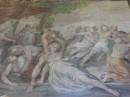 Ratto delle Sabine - Cavalier d'Arpino datato 1635-1636