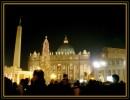 Inverno Luci di Natale in Piazza San Pietro