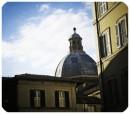 Roma Campo Marzio alba di un mattino d'inverno