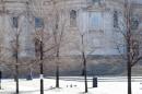 Santa Maria Maggiore in pieno inverno