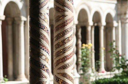Particolare del Chiostro della Basilica di S.Paolo Fuori le Mura