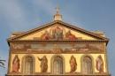 Mosaico della facciata