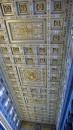 I lavori artistici del soffitto