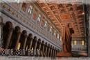 Panoramica interna della Basilica