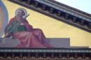 Particolare facciata Basilica di S. Paolo Fuori le Mura