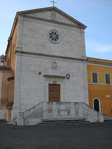 Facciata di S. Pietro in Montorio