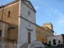 Un lato della Chiesa di San Pietro in Montorio