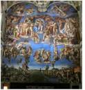 Giudizio Universale Cappella Sistina Michelangelo Buonarroti