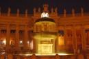 Notturno della Fontana della Città del Vaticano