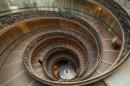 Spirale della scala nel Museo Vaticano