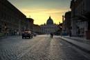 Via della Conciliazione per arrivare alla Città del Vaticano
