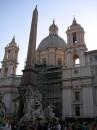 Chiesa e Fontana dei Fiumi