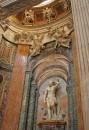 Statua di San Sebastiano opera di Pietro Paolo Campi