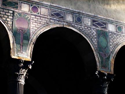 Archi della Chiesa di Santa Sabina