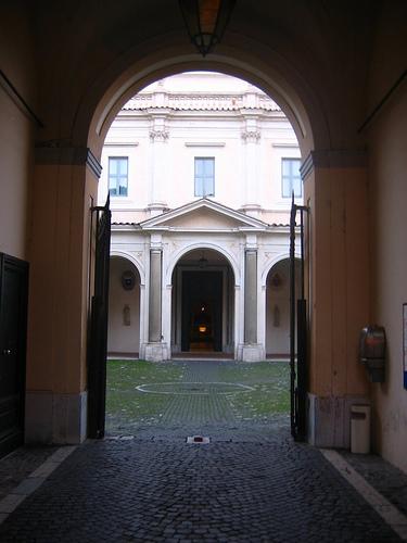 Entrata Chiesa di Santa Sabina