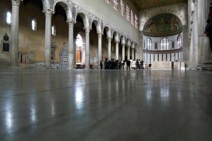 Interno Basilica di Santa Sabina
