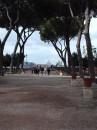Panorama di Roma visto dall'Aventino