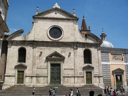 Facciata Santa Maria del Popolo