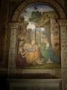 Natività con san Girolamo del Pinturicchio