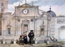 S. Maria del Popolo nel 1833