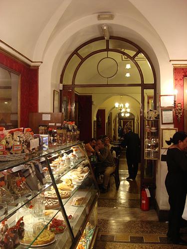 Antico Caffe' Greco in Via Condotti