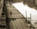 Lungotevere passeggiata lungo il  fiume