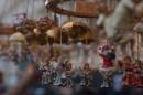 Piazza Navona, Babbi Natale ed Angeli