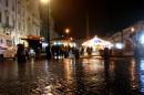 Piove ma il Natale a Piazza Navona è sempre bello