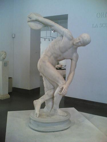 Discobolo Museo Nazionale Romano a Palazzo Massimo