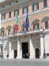 Facciata del Palazzo Montecitorio