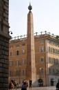 L'obelisco in Piazza Montecitorio