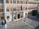 Palazzo Montecitorio visto dall'alto
