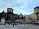 Panorama sulla piazza e Palazzo Venezia