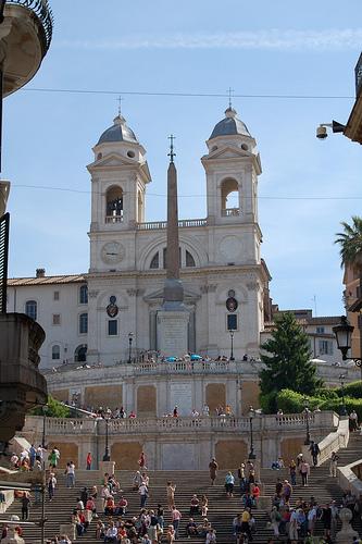 La Chiesa di Trinita' dei Monti