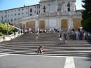 Turisti a Trinita' dei Monti