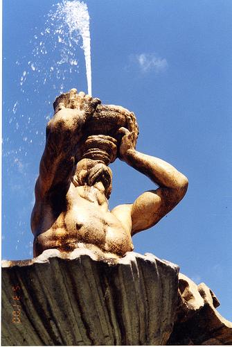 Fontana del Tritone di Gian Lorenzo Bernini