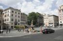 Panoramica sulla Piazza Barberini
