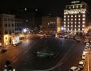 Piazza Barberini di notte