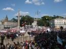 Festa in Piazza del Popolo