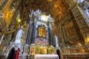 Interno chiesa Santa Maria del Popolo