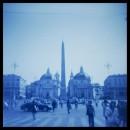Piazza del Popolo e l'Obelisco Flaminio