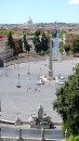Piazza del Popolo vista dal terrazzo del Pincio